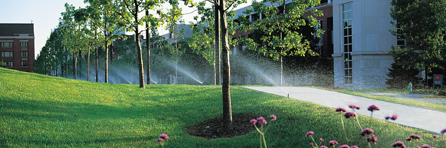 Pop-ups watering commercial property