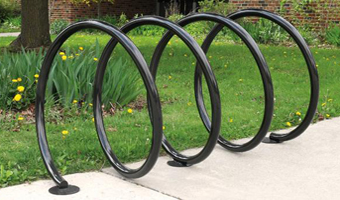 Paris coil bike rack